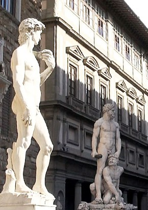 Art History in Florence courses, David statue